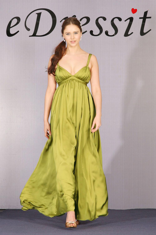 eDressit Elegant V-Schnitt Abendkleid (00091655)