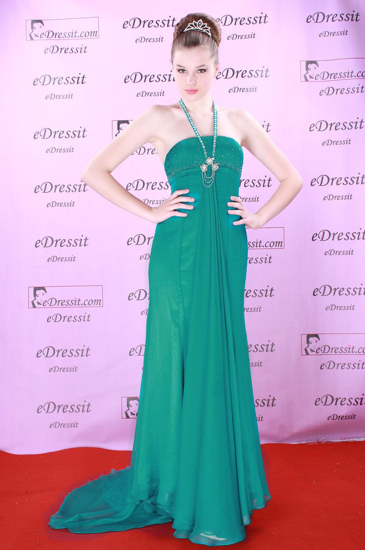 eDressit Verde Sexy Vestido de Noche (00083911)