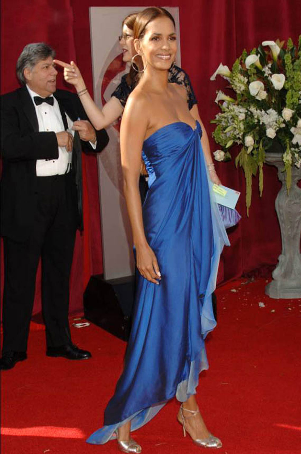 eDressit Blue Halle Berry Celebrity Party Evening Dress (00776805a)