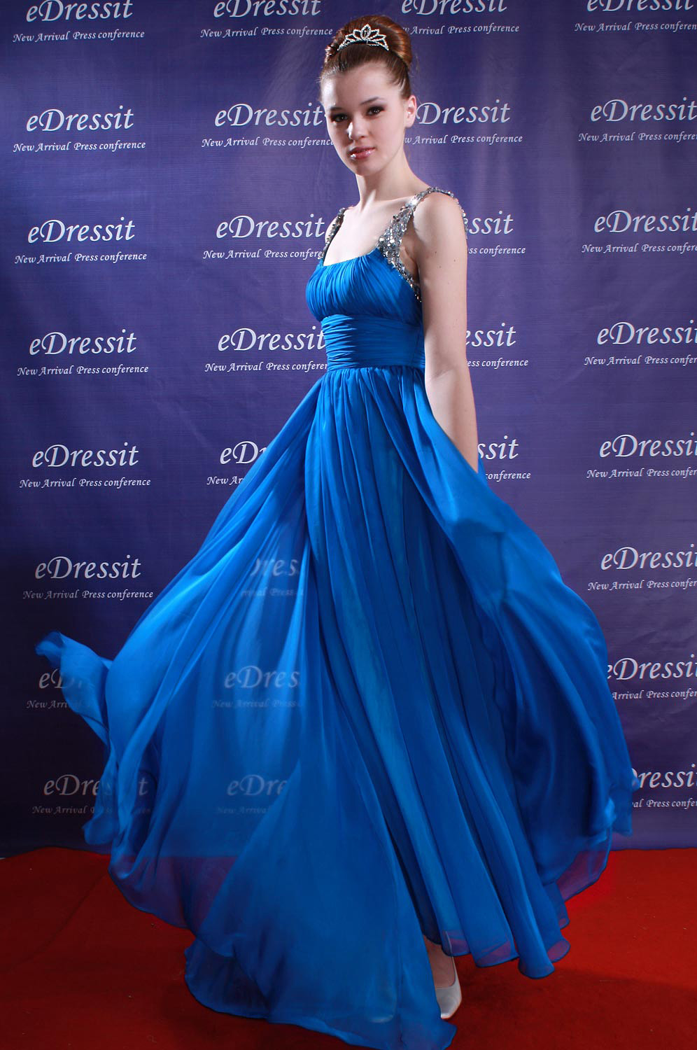 eDressit Blue Party Sequins Prom Gown Evening Dress (00080905)