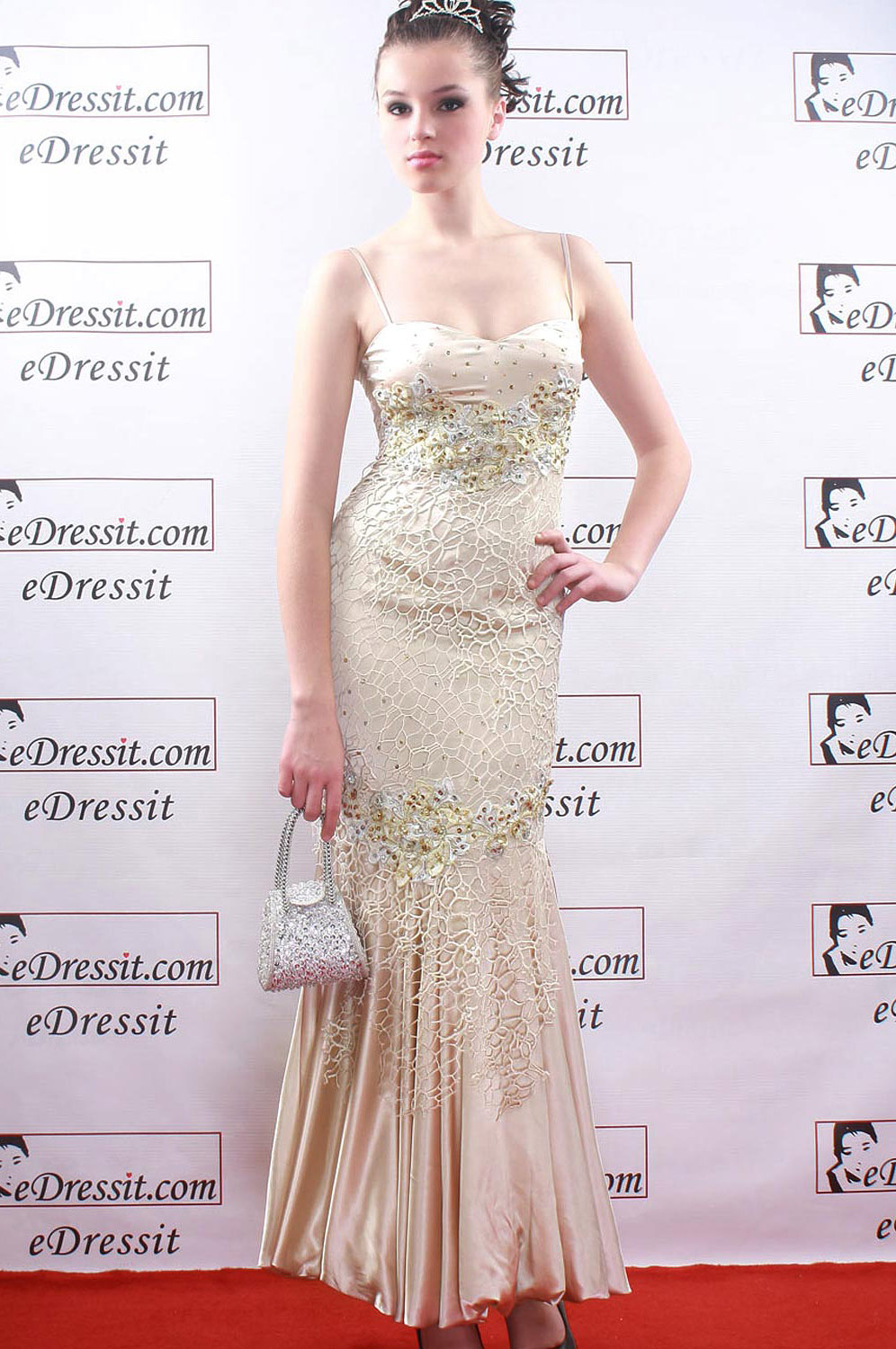 eDressit Cream Elegant Prom Gown Evening Dress (00069414)