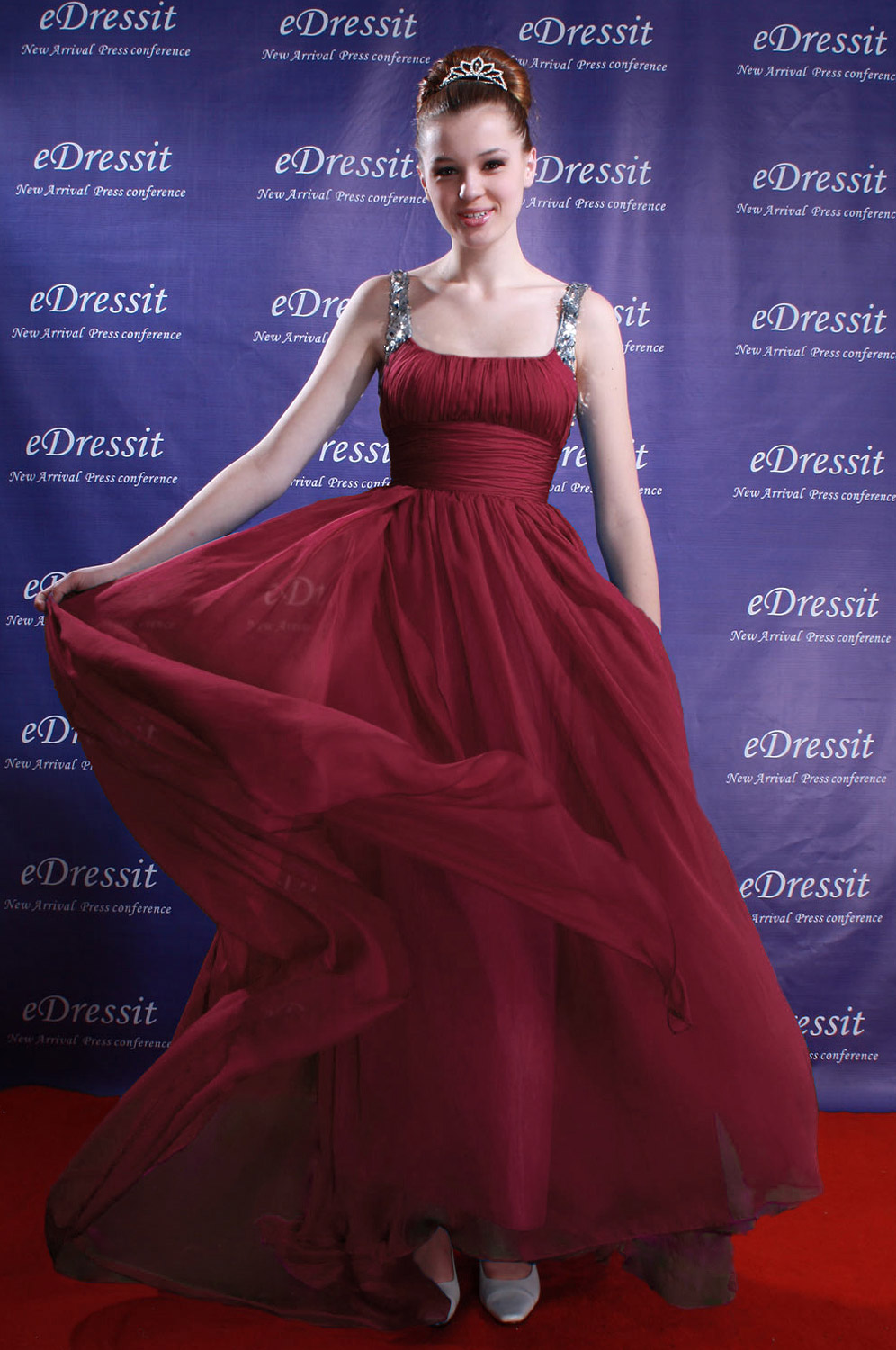 On sale !! eDressit wein Rot Prom Gown Evening Dress (00080905f)