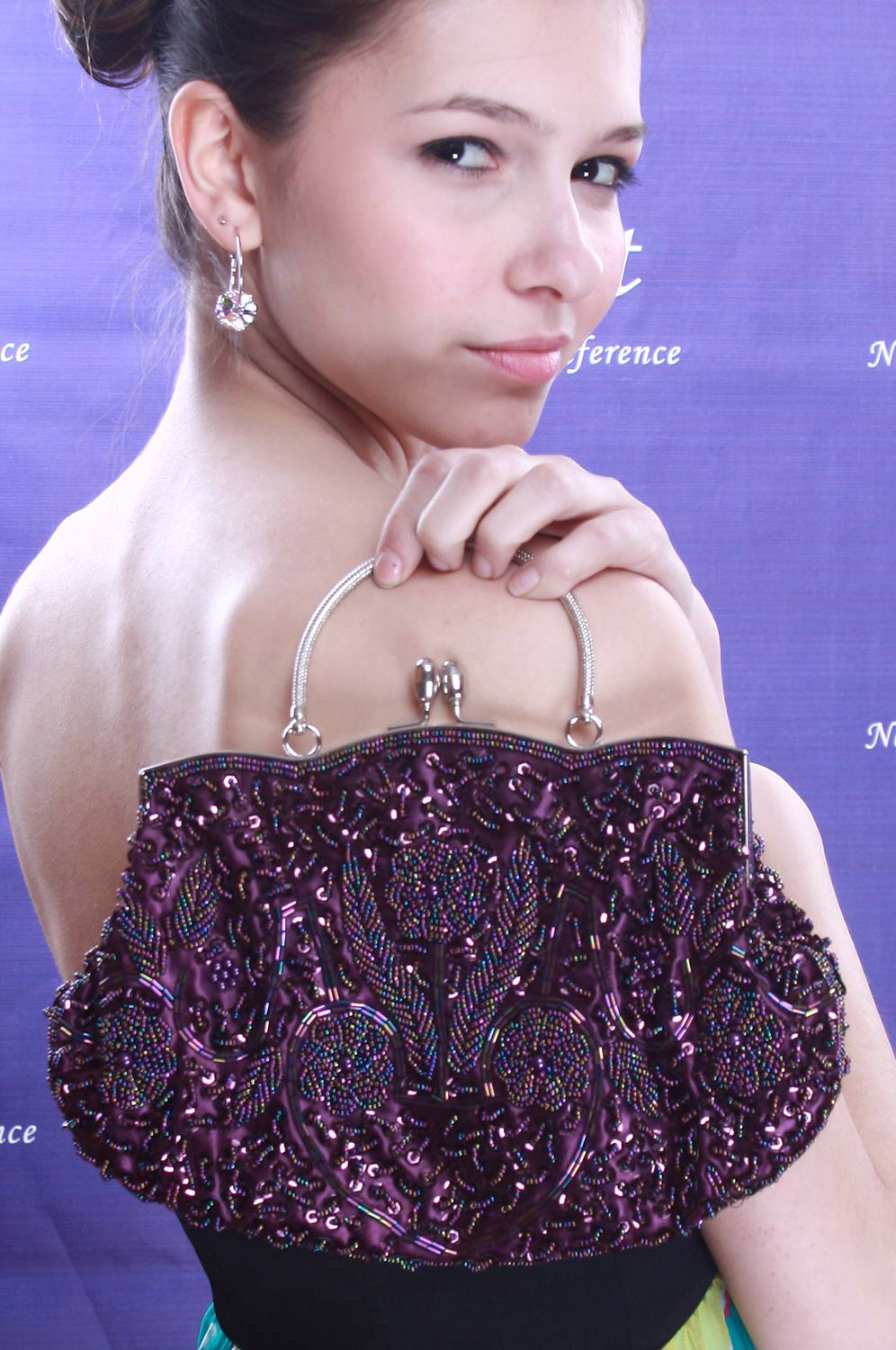 eDressit Purple Lady Hangbag/Clutch/Shoulder Bag (08091306)