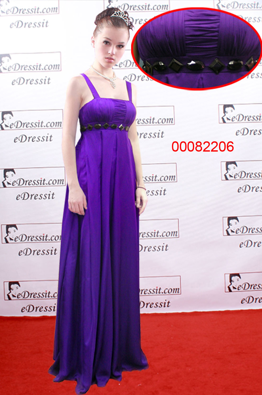 eDressit Elegant Violettes Abendkleid/ Tanzkleid (00082206)