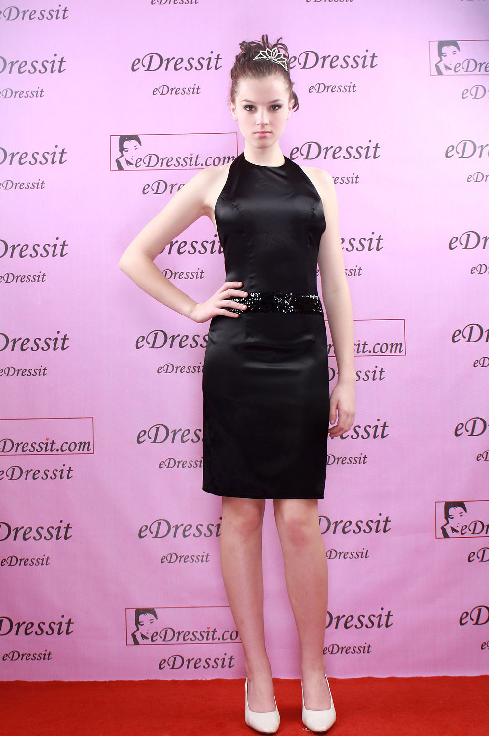 eDressit Black Short Cocktail Evening Dress (04050100)