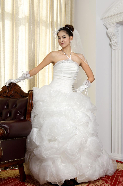 eDressit белое очаровательное свадебное платье (01092907)