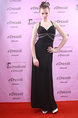 eDressit Elegant Schwarzes Abendkleid (00774100)