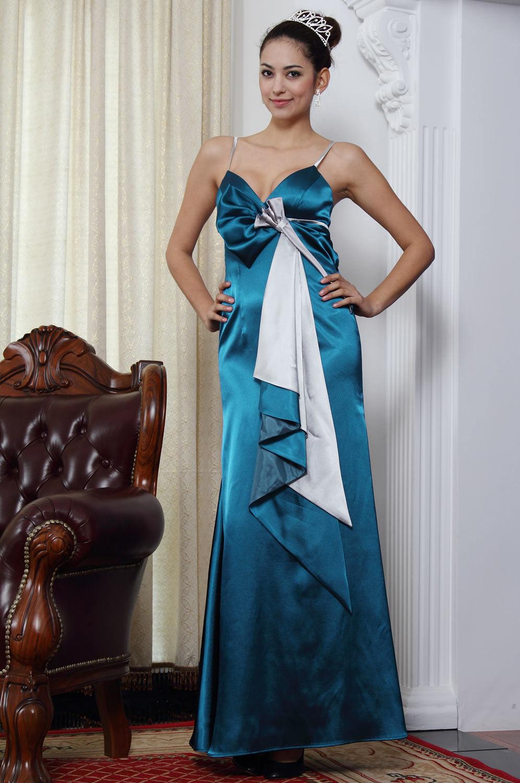 eDressit Elegant Blau Brautjungferkleid (07090405)
