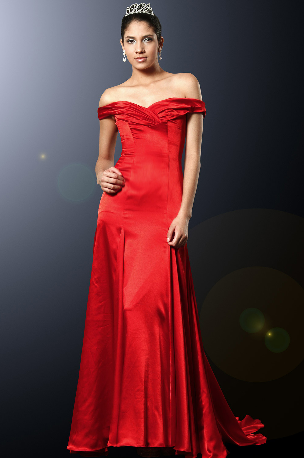 eDressit Charmante Soiree Bal Robe Rouge (00100802)