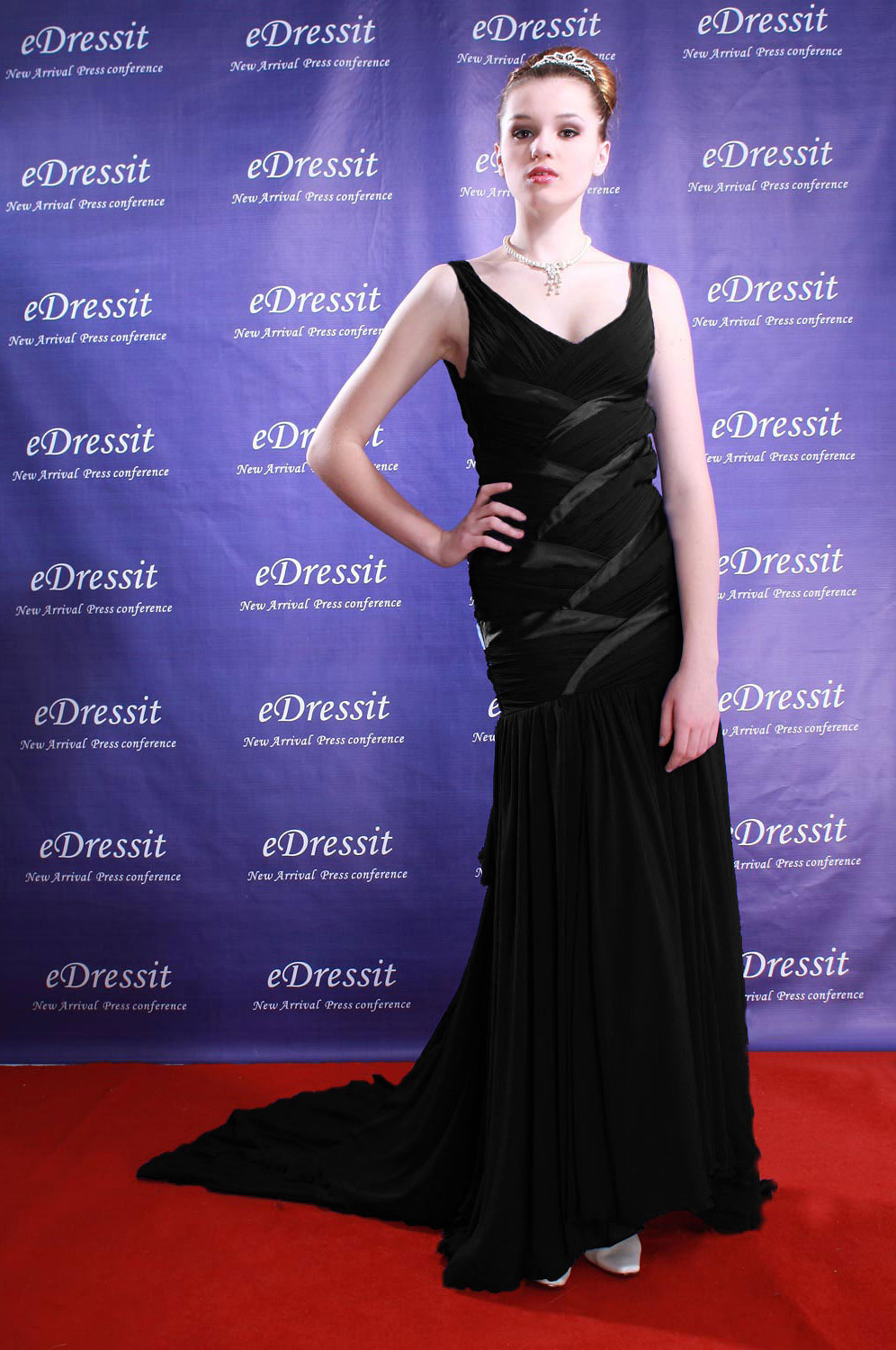 On Sale !! eDressit black prom dress evening dress (00777805f)