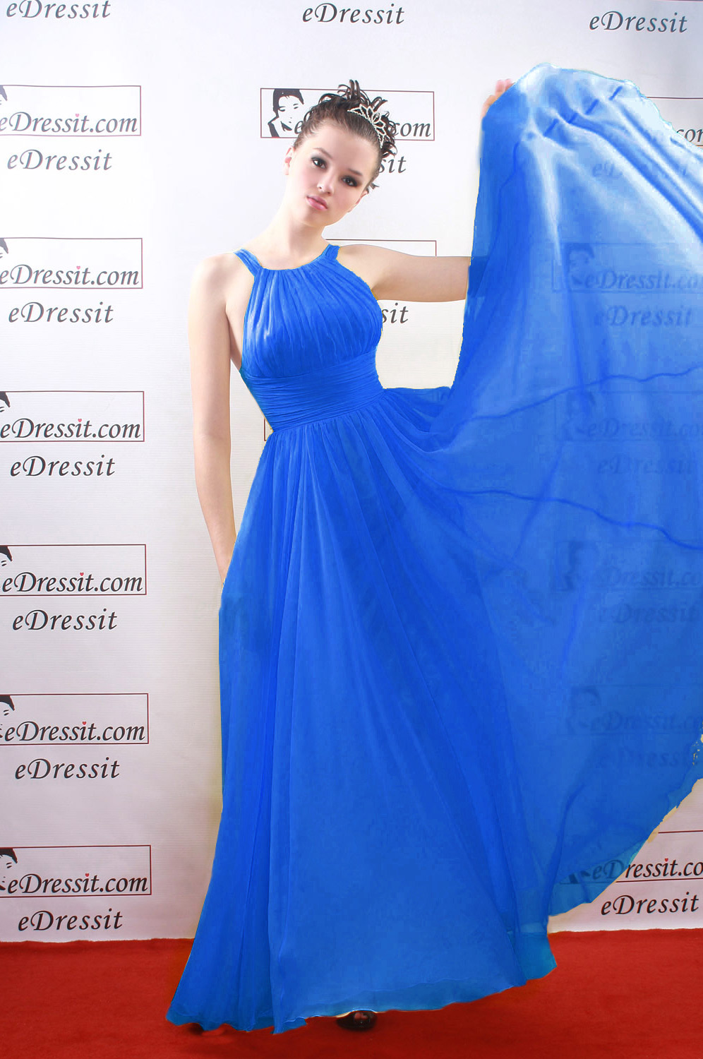 On sale !! eDressit Sexy dark blue Prom Gown Evening Dress (00081403e)