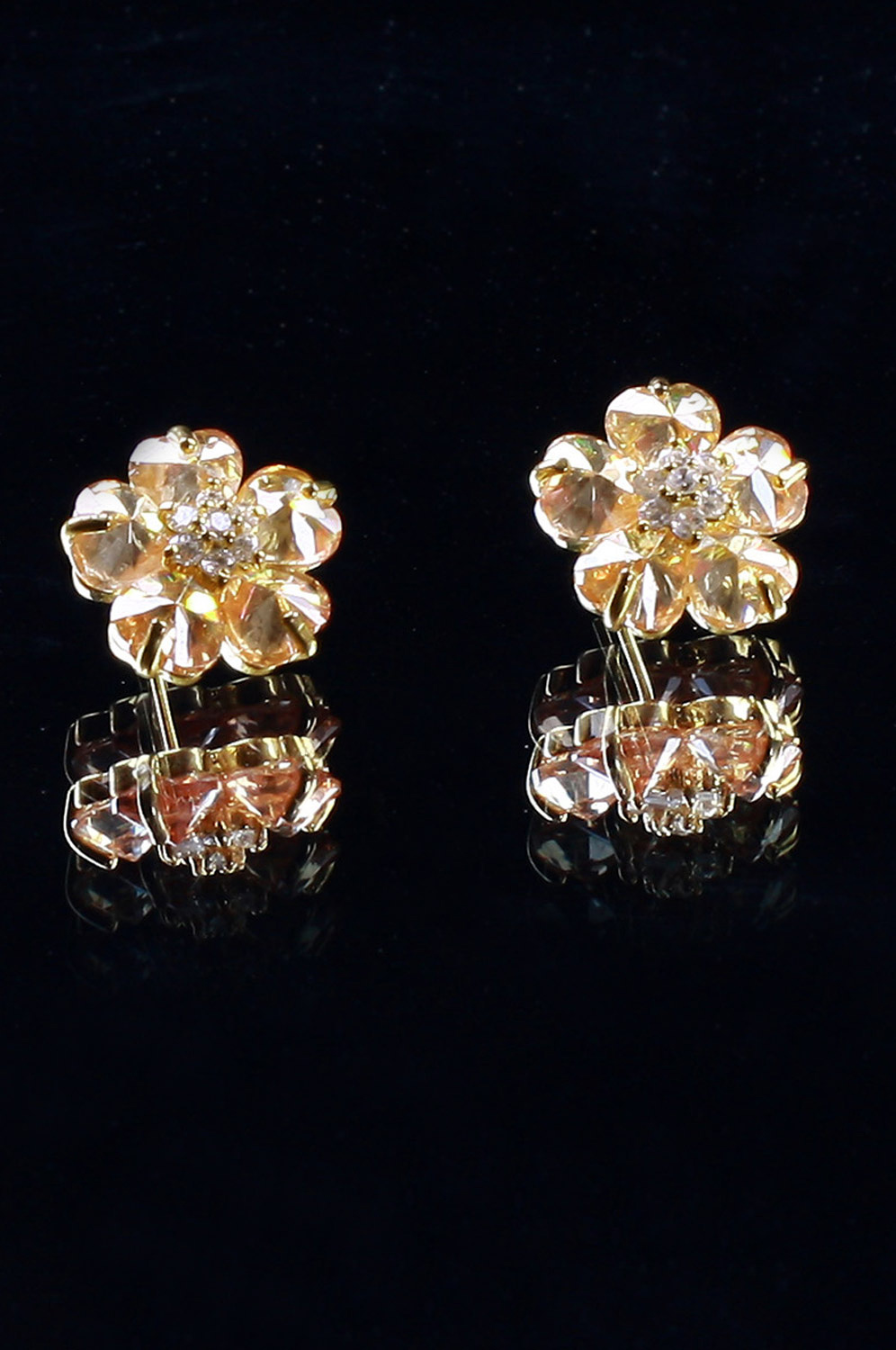 eDressit New Brightly Flower Shape earring (11090610)