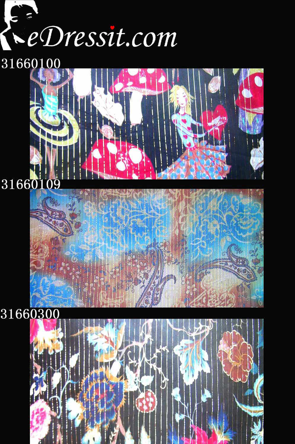 eDressit 100% Pure Silk Fabric (31660100)