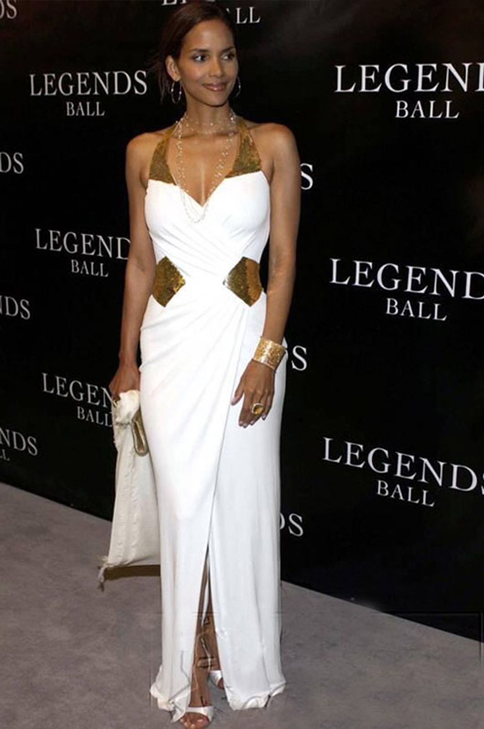 Robe de soiree halle berry