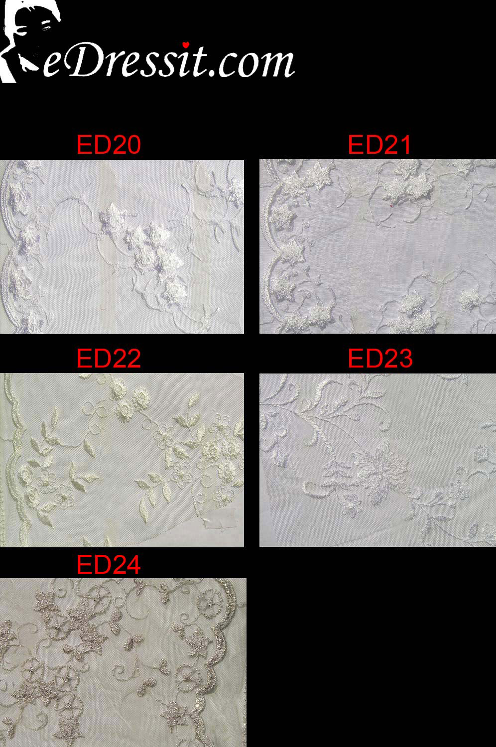 eDressit Lace Fabric (Edlace-3)