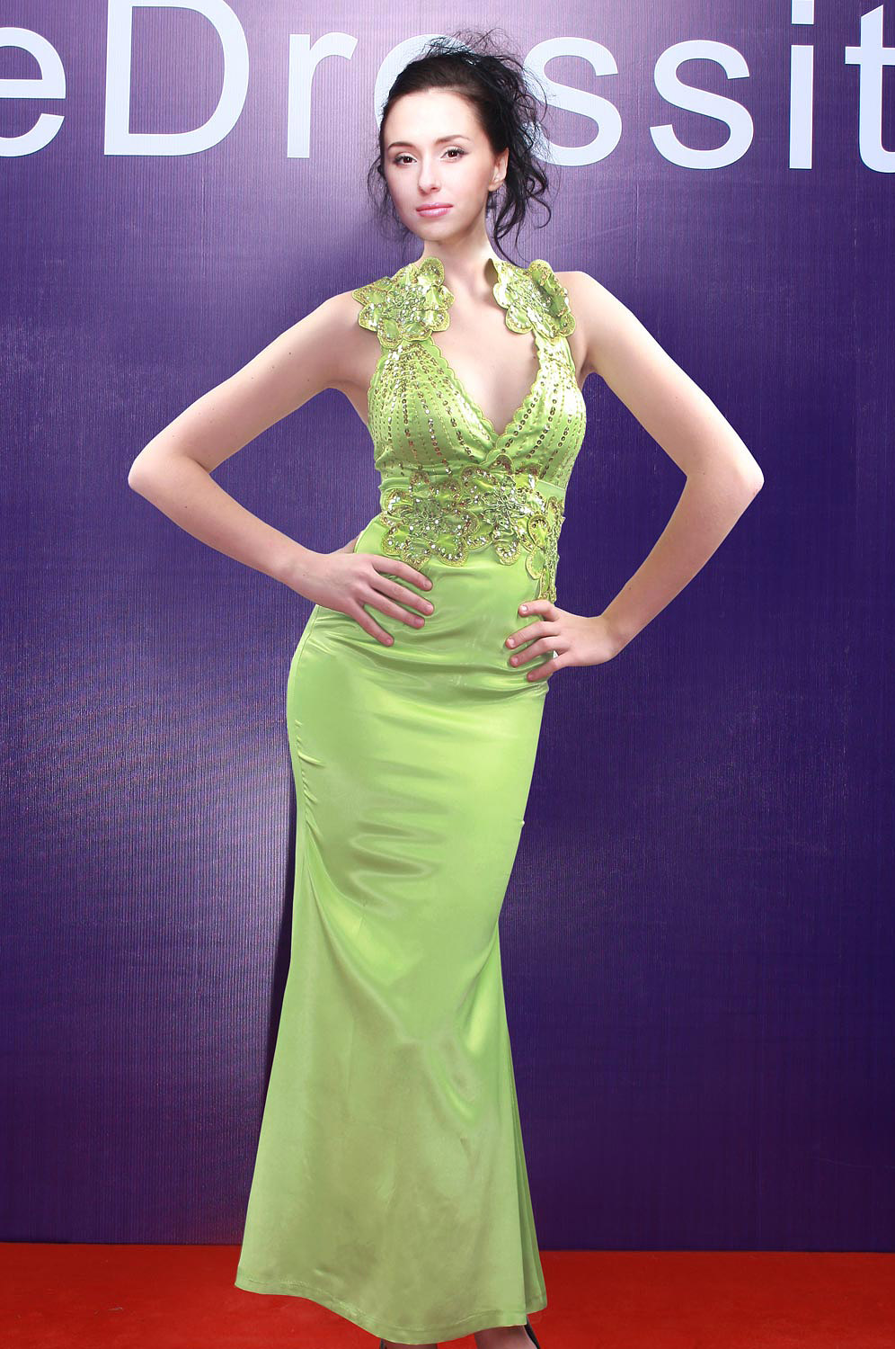 eDressit Green Elegant Evening Dress (00069304)