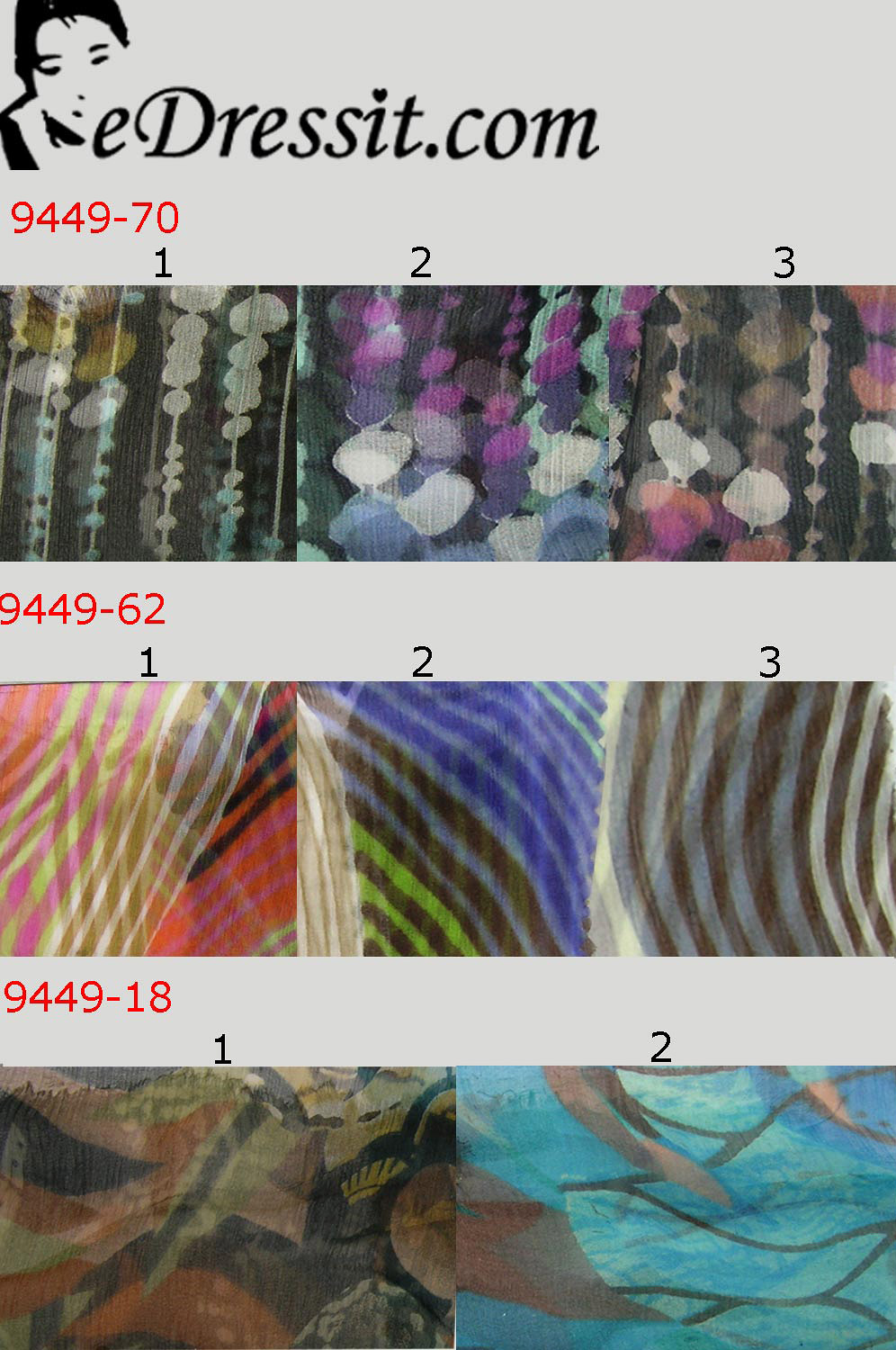 eDressit 100% Pure Silk Fabric (9449-1)