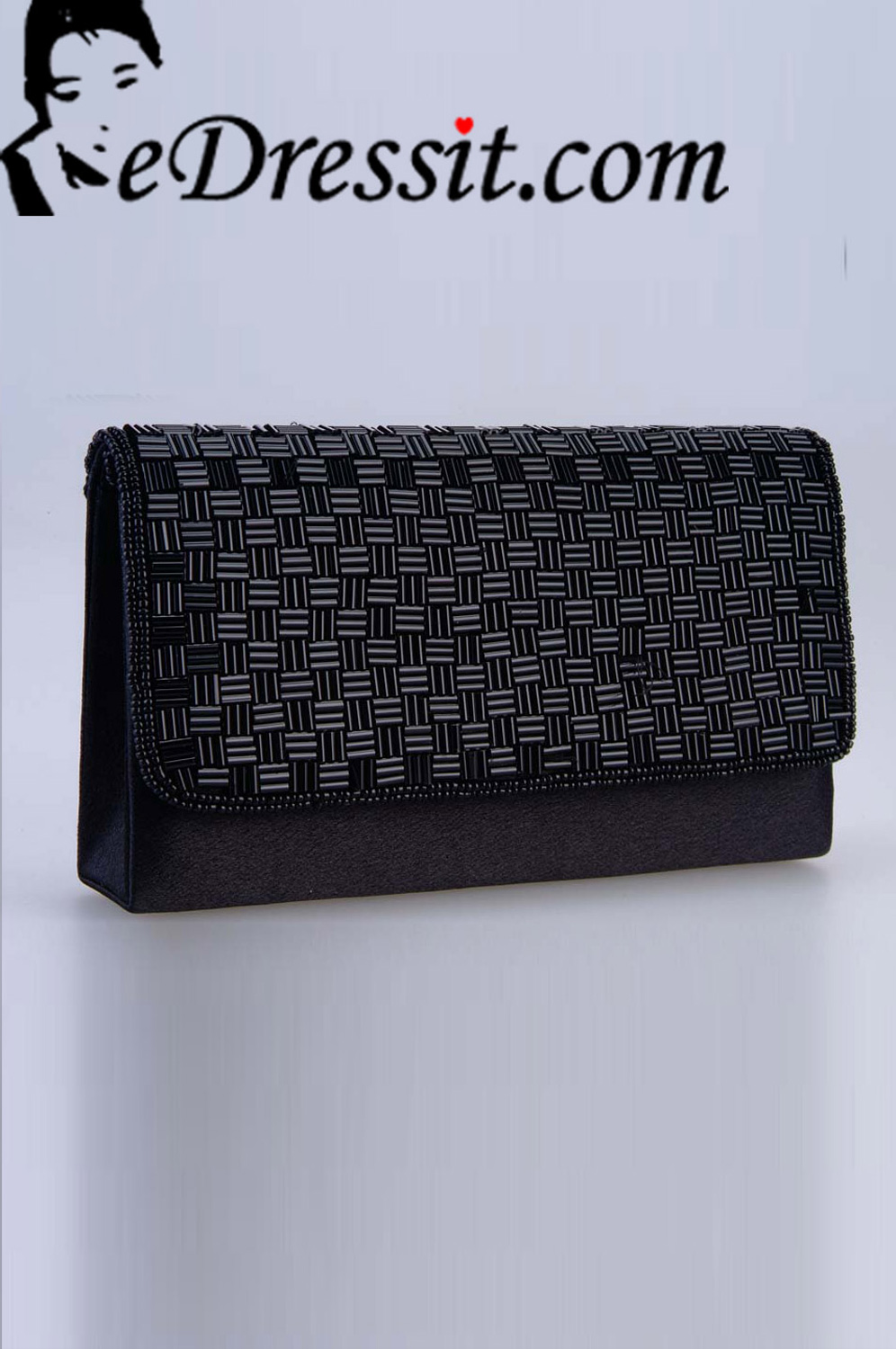 eDressit Women's Black Bag/Purse (08140600)