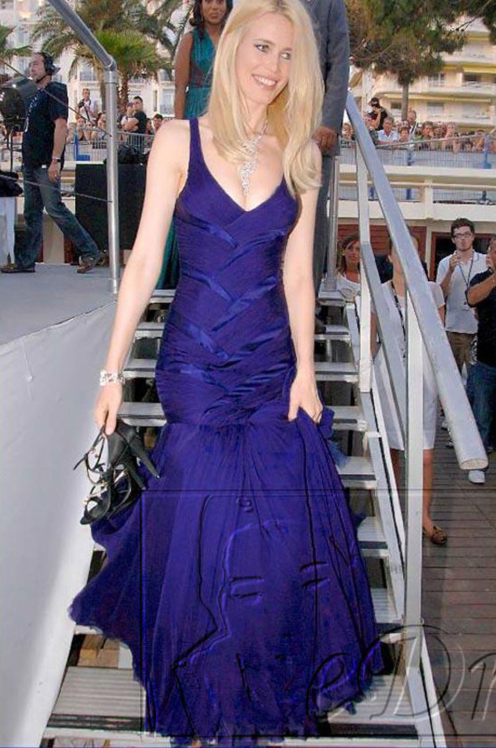 eDressit Claudia Schiffer Sexy Prom Gown Evening Dress (00777805b)