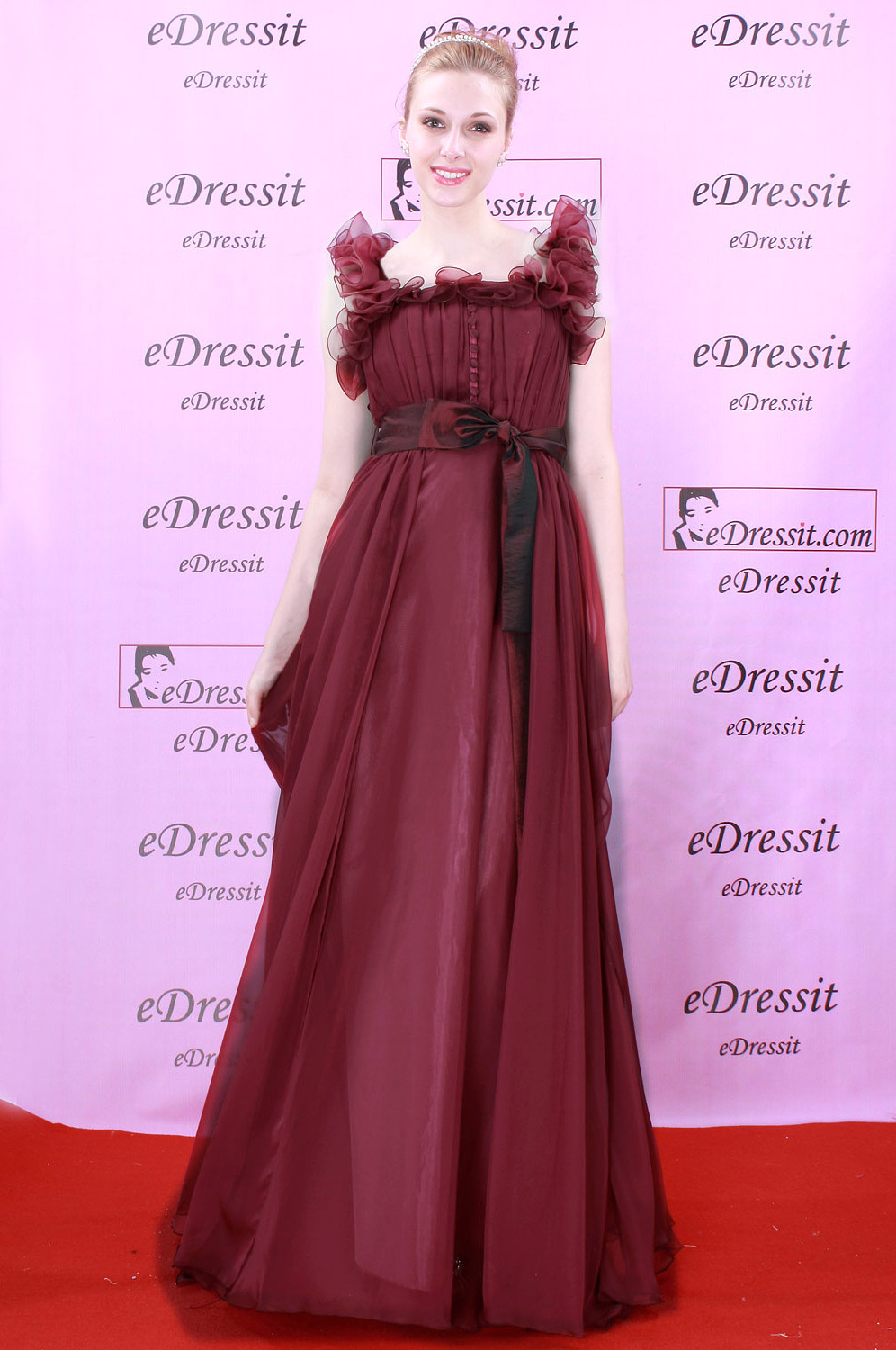 eDresssit burgundy Prom/Ball/Gown/Evening dress (00081017)