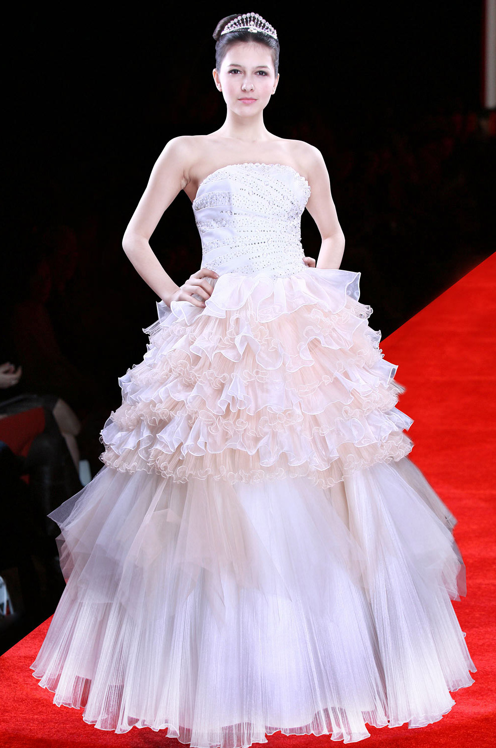 Christmas Discount 50% Off eDressit White Prom Gown Evening Wedding Dress (01090207)