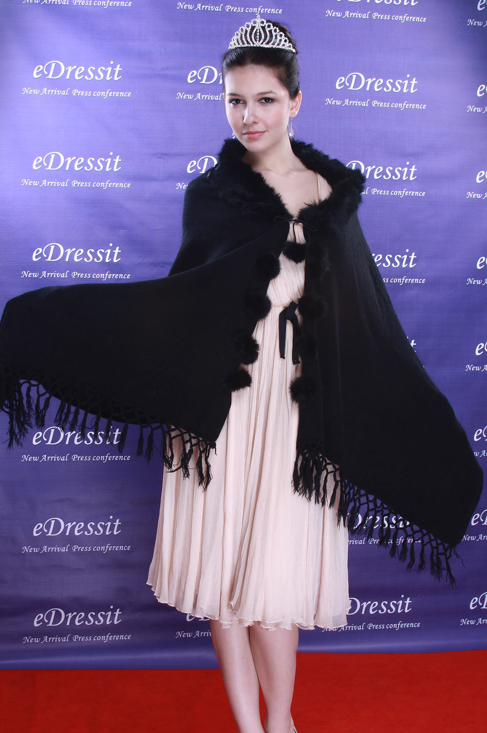 eDressit Black Shawl/Wrapa/Bolero (14090100)
