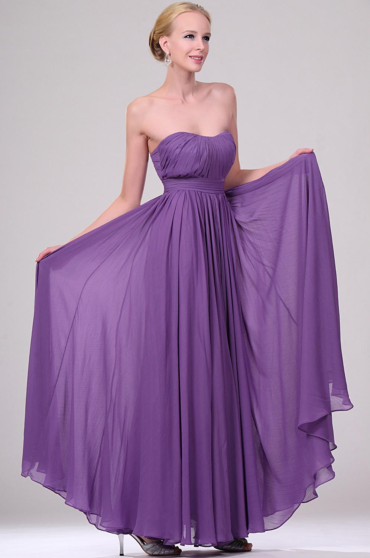 eDressit Violett Angelina Jolie Abendkleid Ballkleid (00777906)