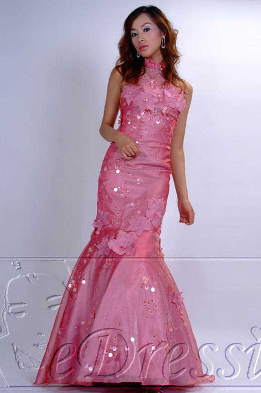 eDressit roze Avondjurk/Trouwjurk/Avondkleding (02030115)