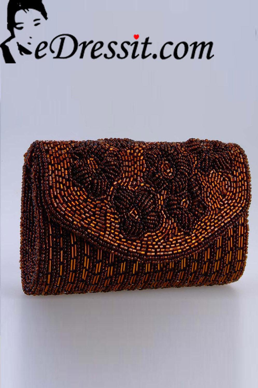 eDressit Women's Brown Bag/Purse (08140209)