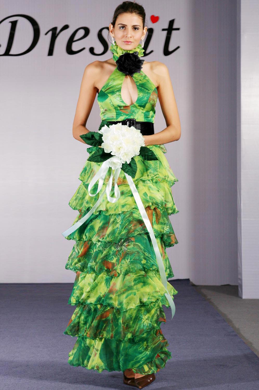 eDressit Elegant schwaz Lively Halter Abendkleid (00093568)