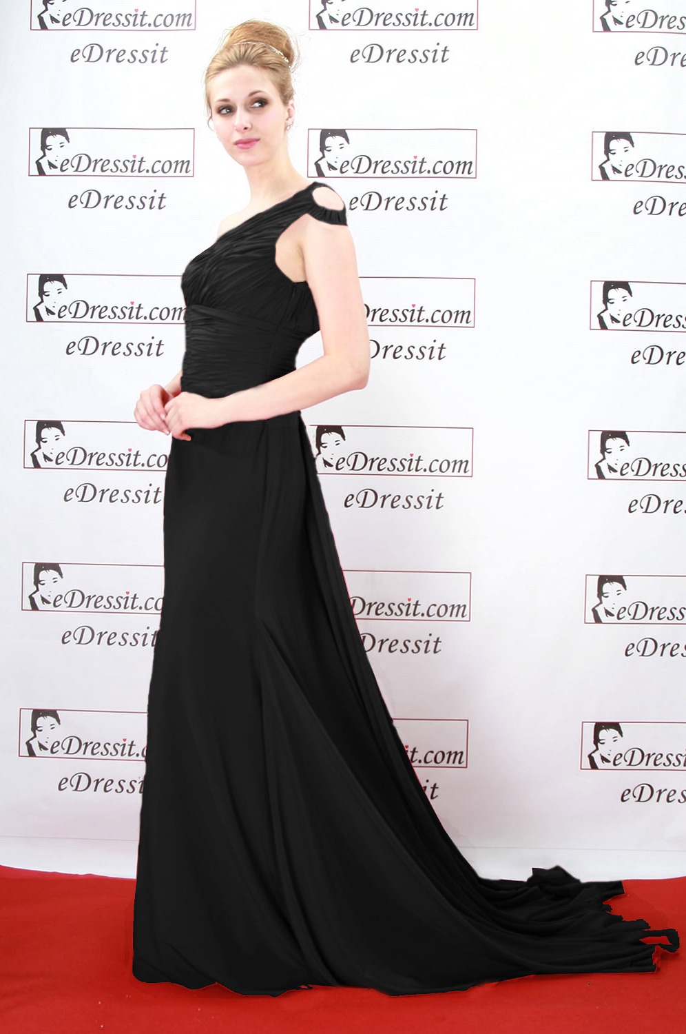 On sale!! eDressit black evening dress prom dress (00080602f)