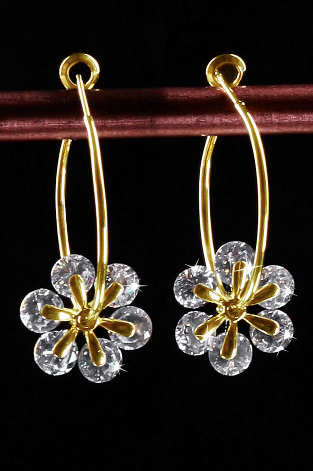 eDressit New Brightly Flower shape earring (11090407)