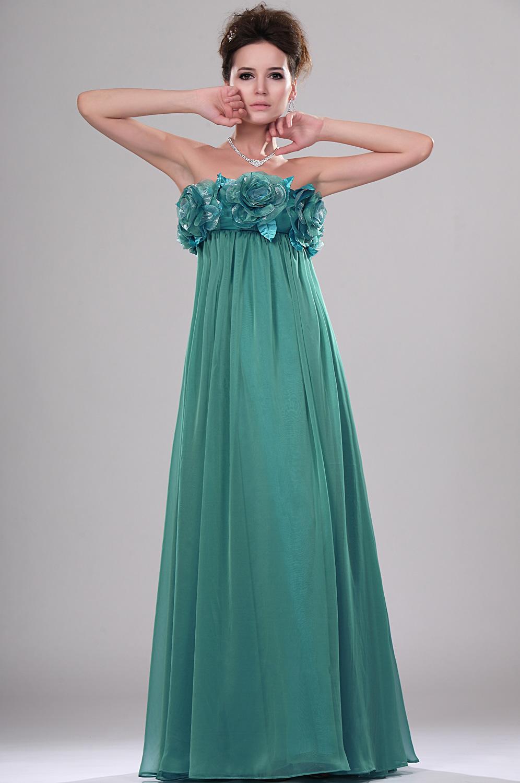eDressit Neue Artikel Traegerlos Wunderbar Abendkleid mit Blumen Brust (00114004)