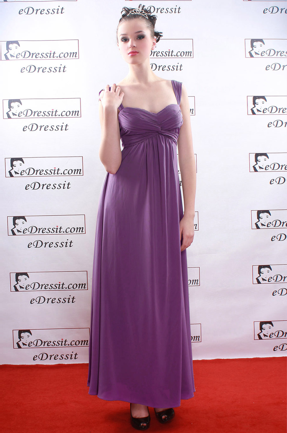 On sale !! eDressit Purple  Prom Gown Evening Dress (00080846f)