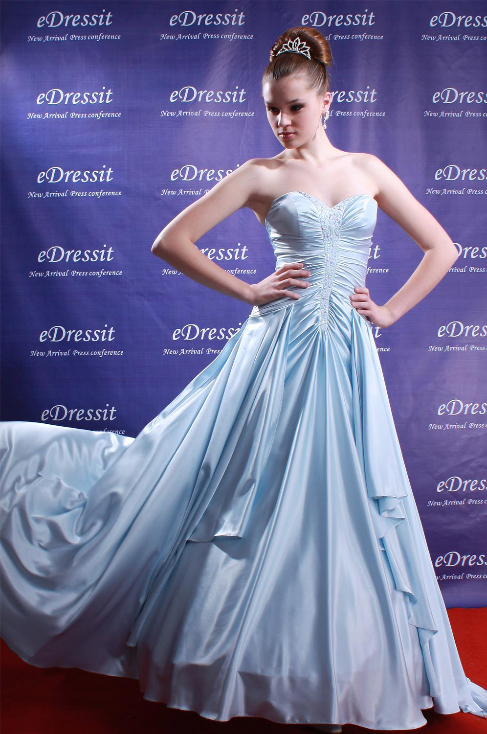 On sale !! eDressit blue Prom Gown Evening Dress (01081032f)