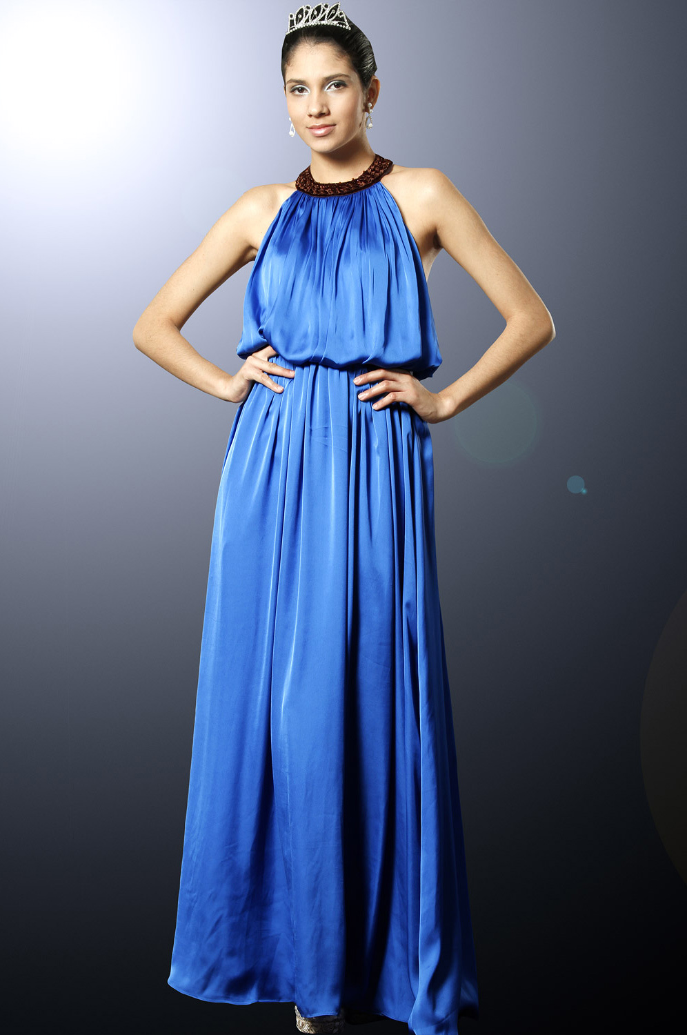eDressit Elegant Evening Dress with Beaded Neckline (00101005)