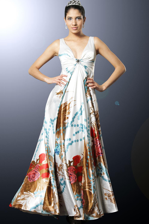 eDressit Elégante Robe V-décolletée (00097768)