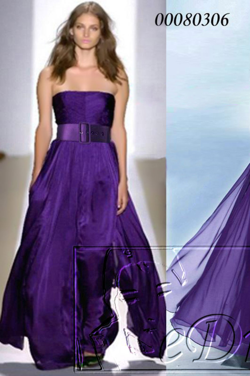 eDressit Celebrity Sexy Purple Prom Gown Evening Dress (00080306)