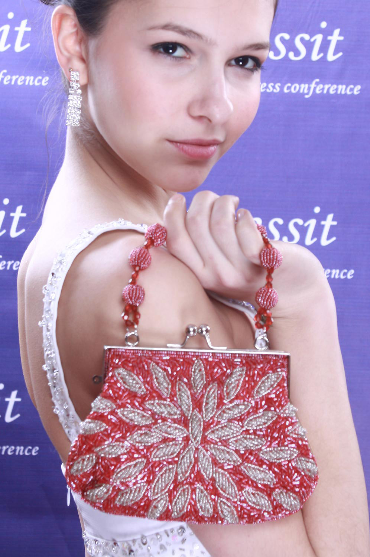 eDressit Red Lady Bag Handbag Shouler/Clutch BAG (08091602)