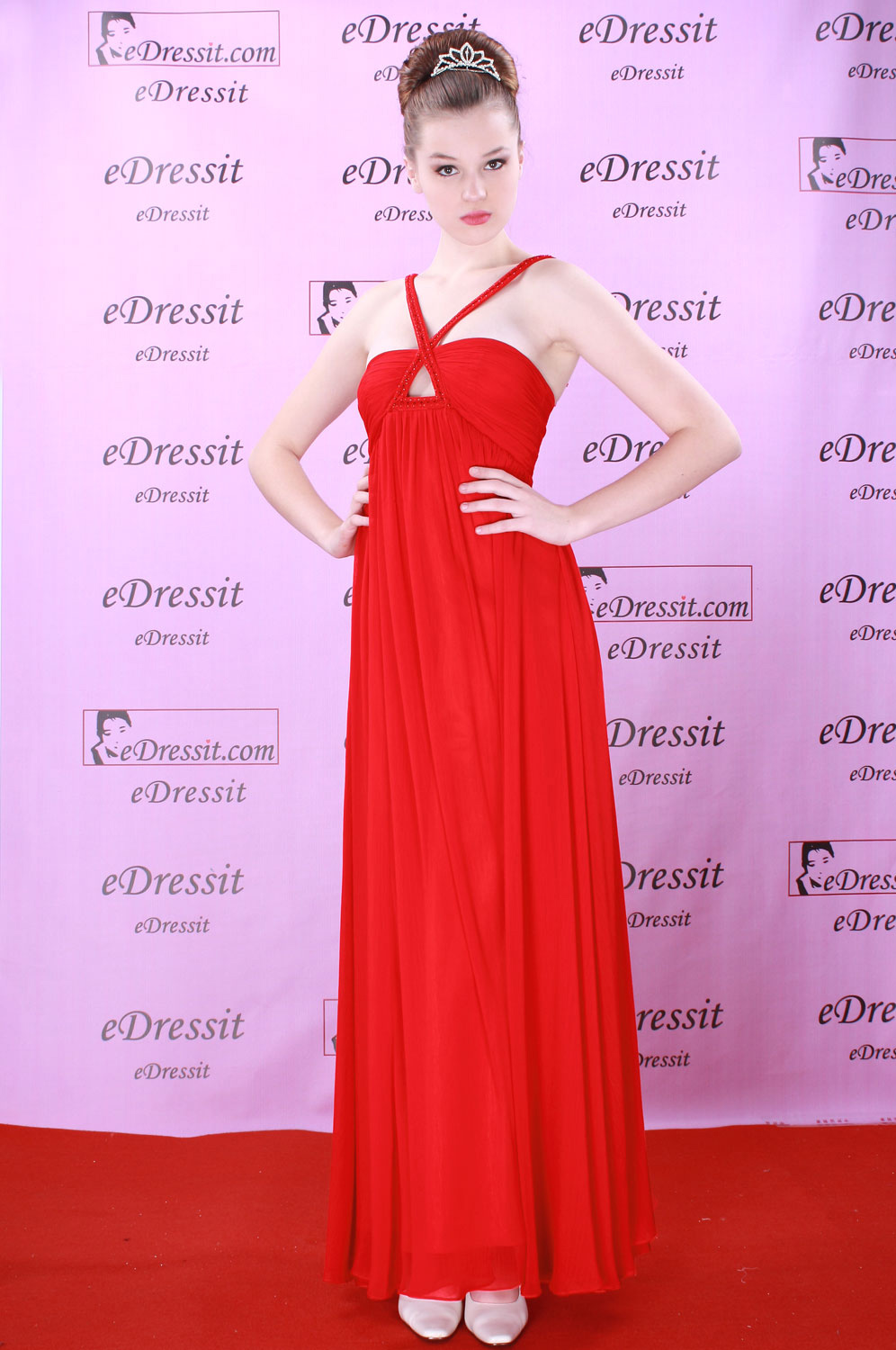 eDressit Red Prom Ball Gown PartyEvening Dress (00081502)