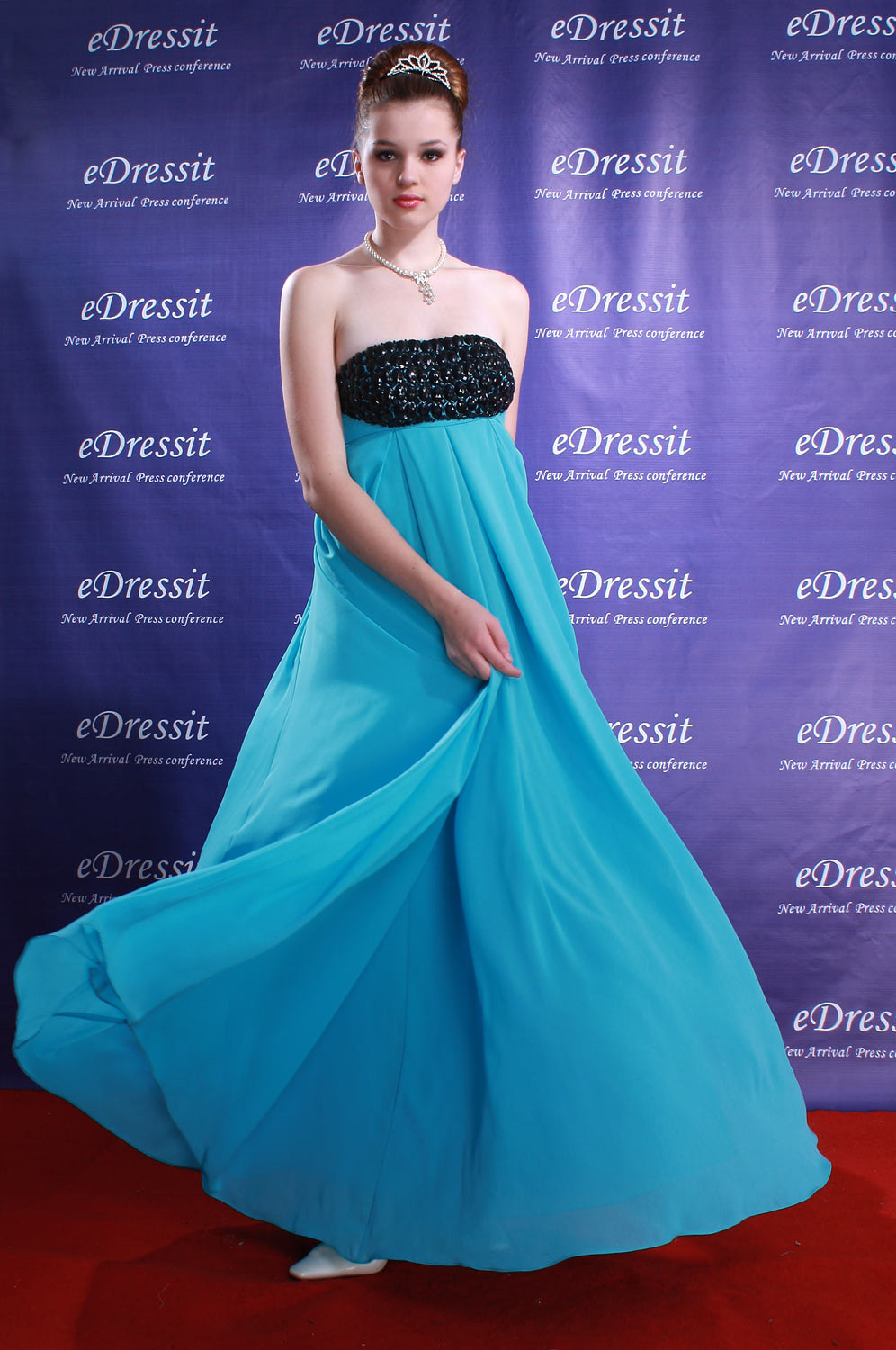 ON SALE ! eDressit Blue Celebrity Party Evening Dress (00779011)