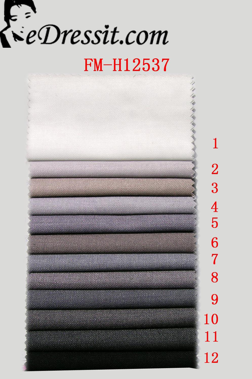 eDressit Anzug Stoff (2% Seide, 33 % Wollens,65 % Terylene ) (FM-H12537)