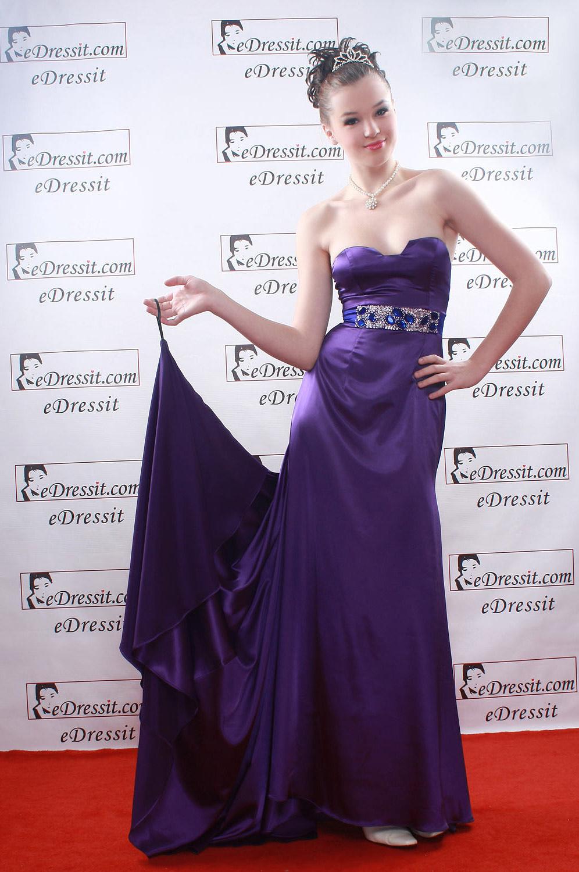eDressit Purple Ball Gown Party Evening Dress (00084606)