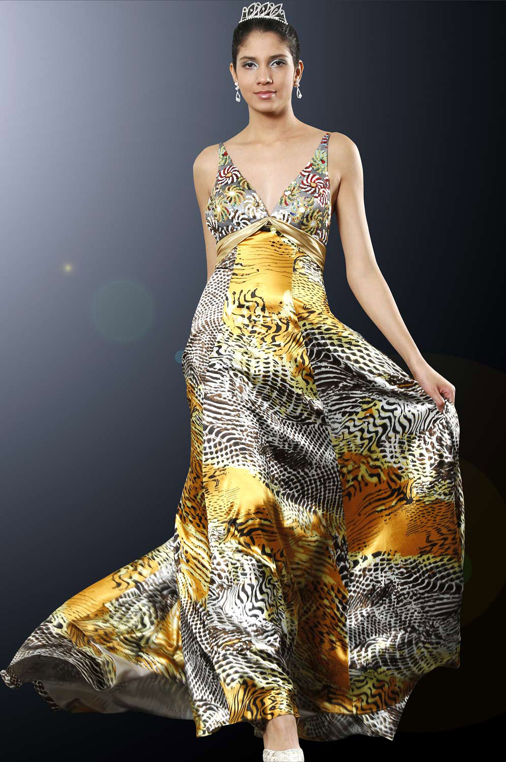 eDressit Breathetaking Evening Dress with Sequined Bust (00097868)