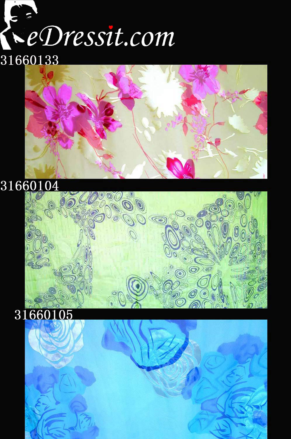 eDressit 100% Pure Silk Fabric (31660133)