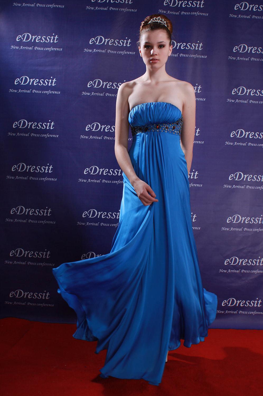 eDressit Blue Celebrity Party Evening Dress (00777405)