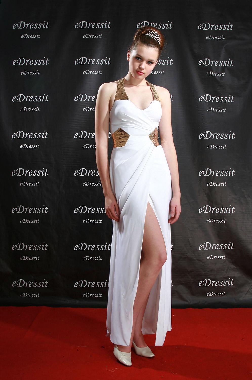 eDressit Sexy Weiß Ballkleid/Abendkleid V-Cut (00775707)