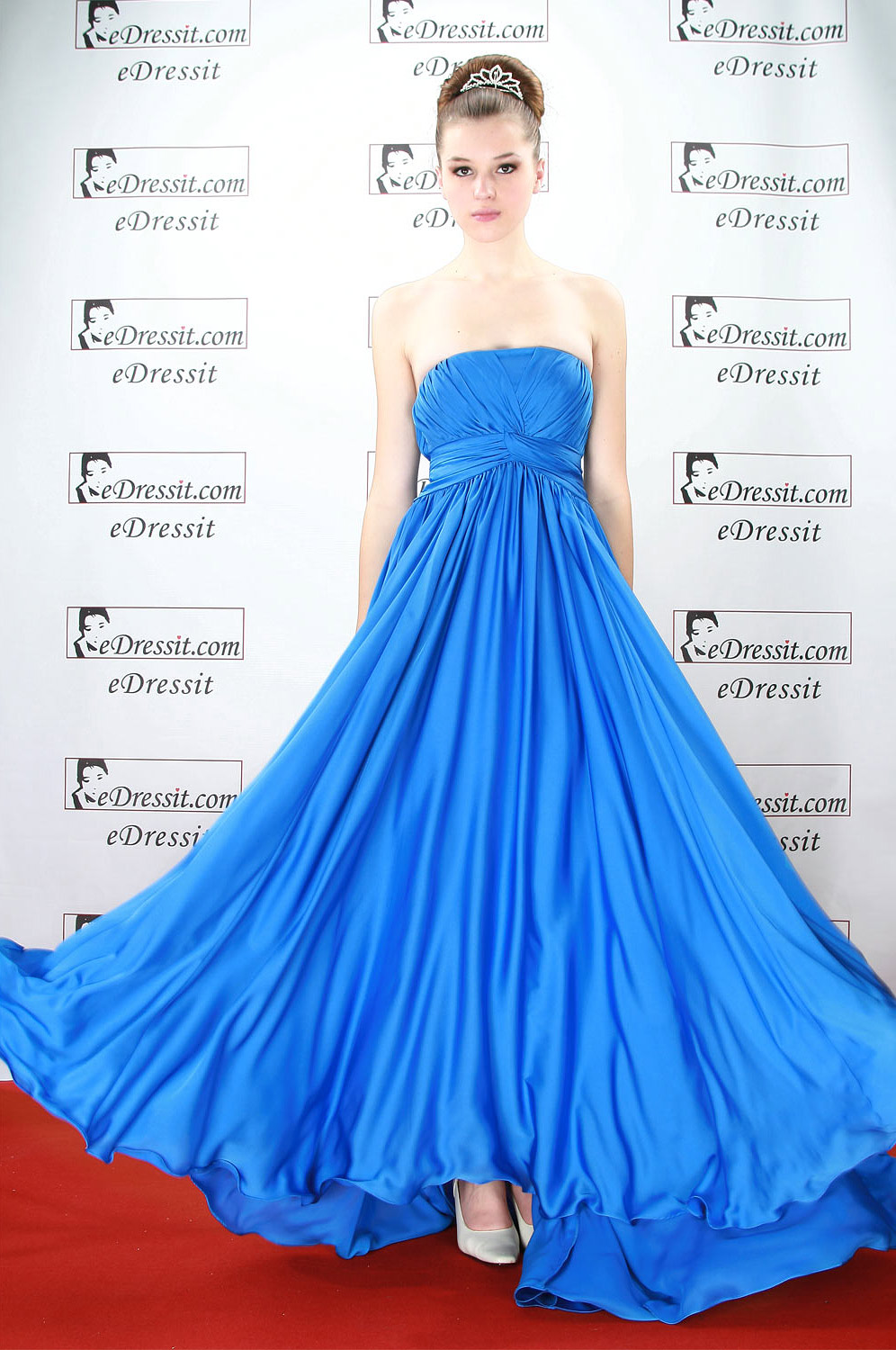 eDressit Blue Sexy Ball Prom Gown Evening Dress (00084005)