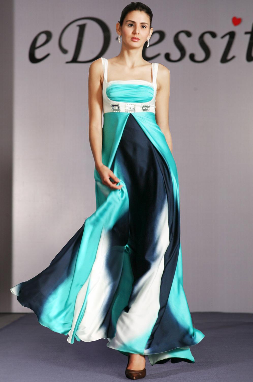 eDressit Gradient Farbe mit Perlen Abendkleid (00096756)