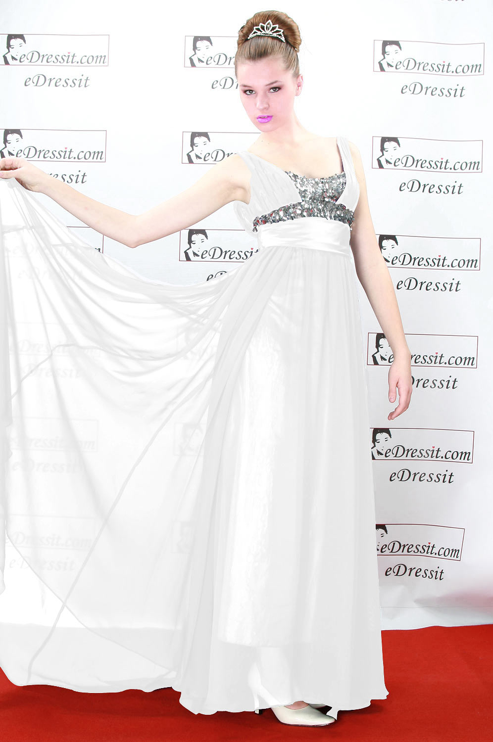 On Sale !! eDressit white prom dress evening dress (00080406f)